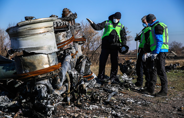 """Росавиация раскритиковала голландский отчет о крушении """"Боинга"""" под Донецком"""