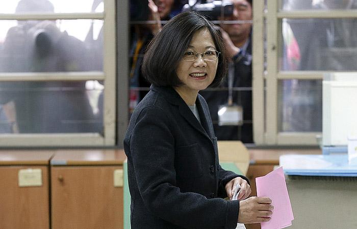 Главой Тайваня впервые в истории избрана женщина