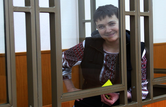 """В СБУ заявили о готовности освободить Савченко """"на любых конфигурациях"""""""
