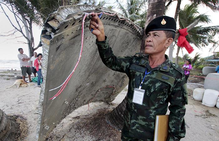 Mitsubishi назвала найденный в Таиланде обломок частью японской ракеты