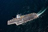 Пентагон прокомментировал пролет иранского беспилотника над авианосцем США