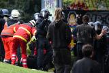 В Дрездене колумбийских неонацистов избили местные ультраправые