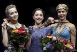 Россиянки заняли весь пьедестал на ЧЕ по фигурному катанию