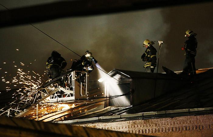 Младенец оказался среди погибших на пожаре в швейном цехе в Москве