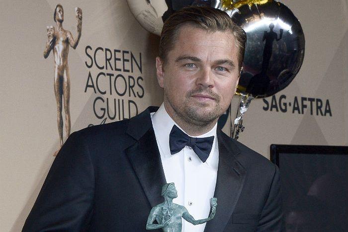 Ди Каприо получил награду Гильдии киноактеров США