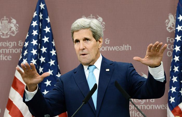 Керри призвал Россию приостановить авиаудары по Сирии