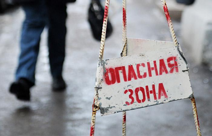 Москва закупила песок и гранитную крошку для борьбы с гололедицей
