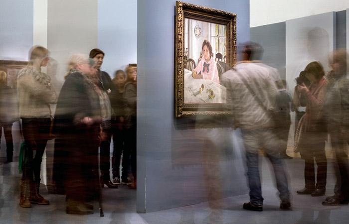 Выставка Серова стала самой посещаемой выставкой русского художника в мире