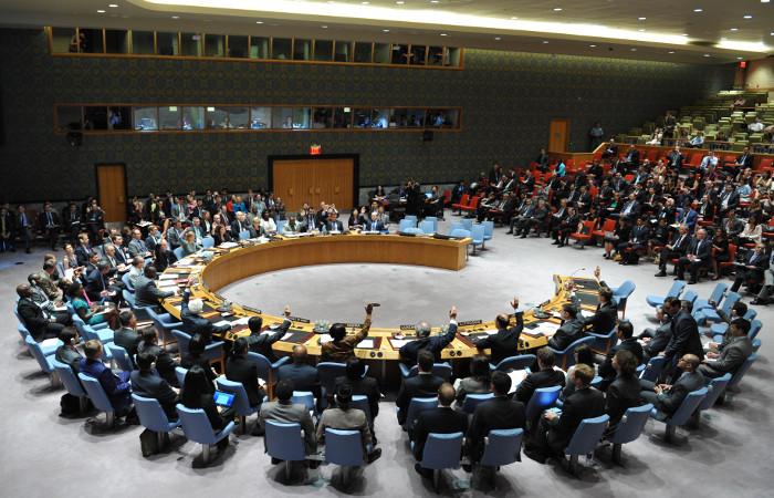 Совбез ООН решительно осудил запуск КНДР баллистической ракеты