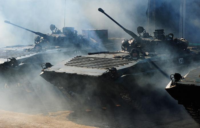 На полигонах Сибири и Дальнего Востока начались военные учения