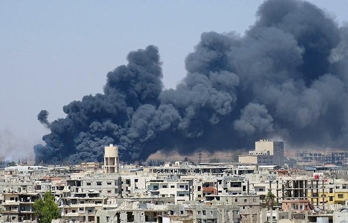 Москва предложила прекратить огонь в Сирии с 1 марта