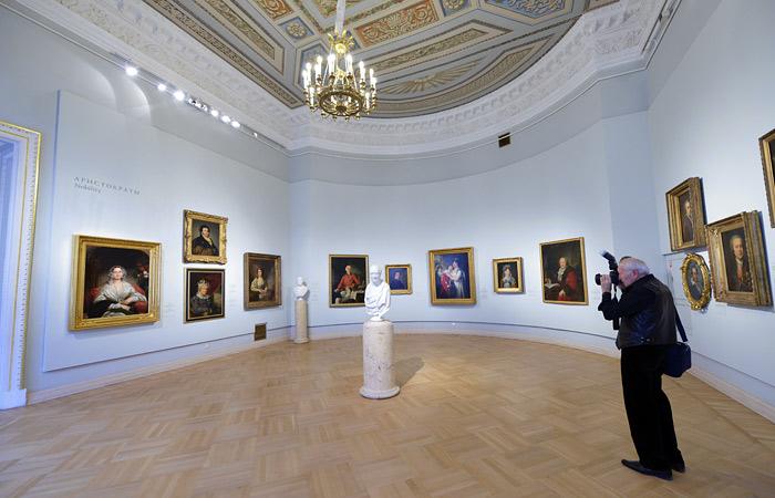 На время реконструкции Русского музея часть экспонатов будет вывезена