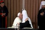 В РПЦ не исключили визит папы римского в Москву в будущем