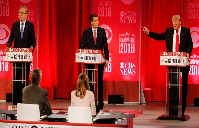 Трамп и Буш повздорили на дебатах из-за России
