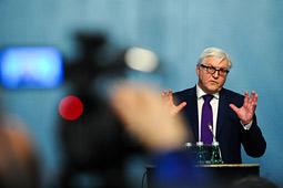 Франк-Вальтер Штайнмайер: на национальном уровне мы в одиночку ничего не добьемся