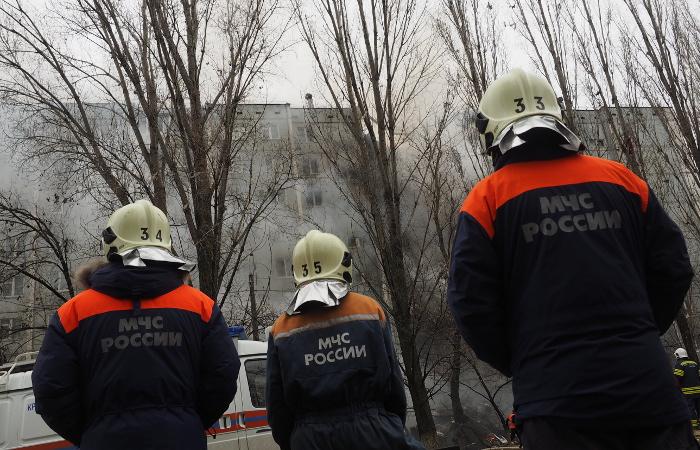 В жилом доме Ярославля произошел взрыв бытового газа