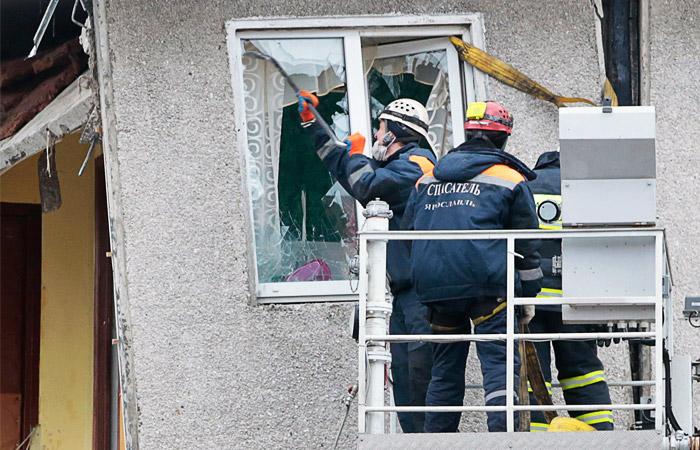 Число погибших при взрыве газа в Ярославле возросло до шести человек