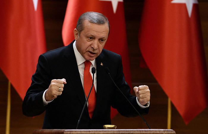 Президент Турции пообещал продолжить удары по курдам в Сирии