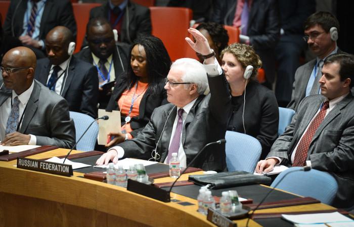Шесть членов СБ ООН отвергли проект резолюции России по Сирии