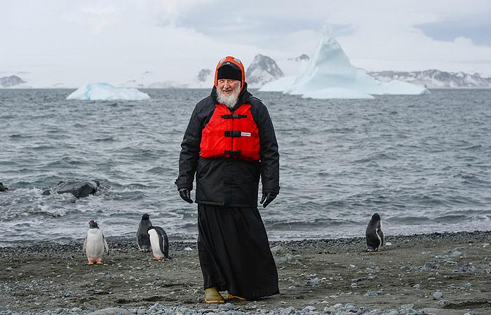 Патриарх Кирилл рассказал об аварии во время полета в Антарктиду