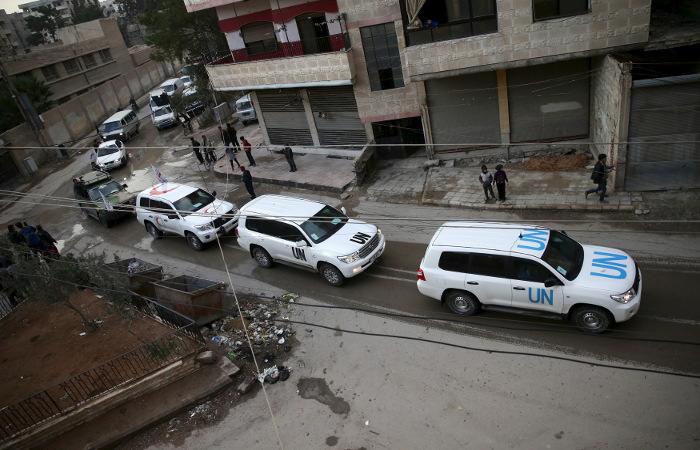 ООН смогла доставить лишь половину гуманитарной помощи в сирийский Дейр-эз-Зор