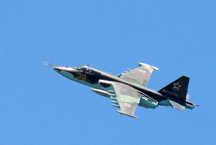 В ставропольском Буденновске разбился Су-25