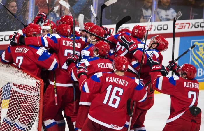 Картинки по запросу российские хоккеисты победили