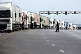 На Украине предложили услугу платного сопровождения грузовиков из РФ