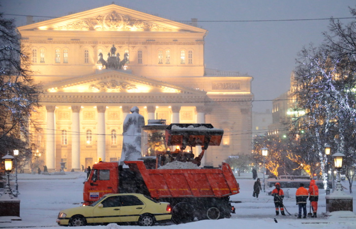 За ночь в Москве выпала половина месячной нормы осадков