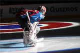 Варламов признан первой звездой дня в НХЛ