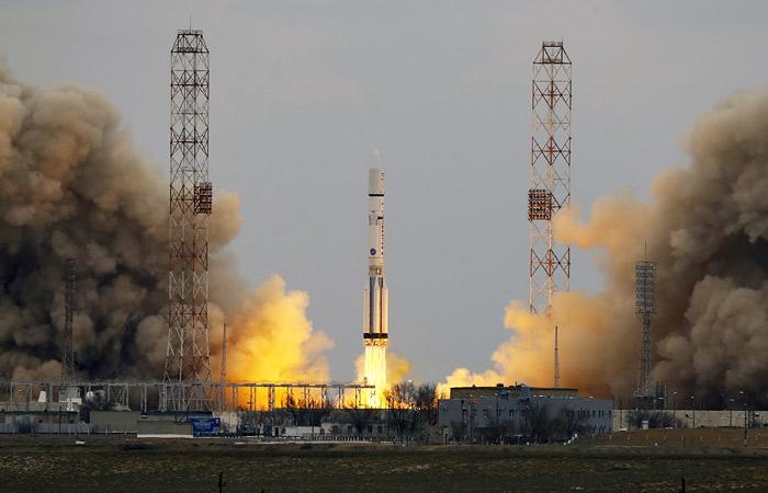 Межпланетная станция ExoMars-2016 стартовала с Байконура