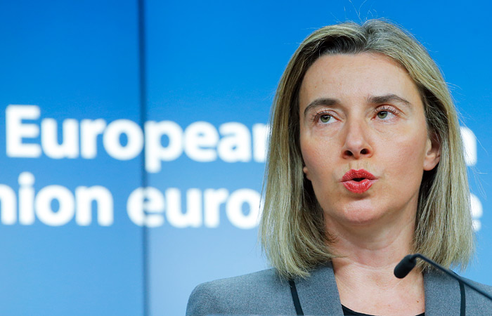 Главы МИД ЕС согласились с пятью принципами отношений с Россией