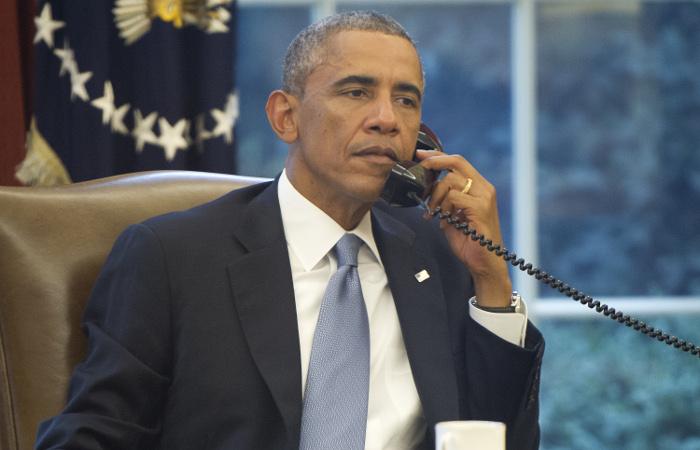 Путин и Обама подтвердили важность соблюдения Минских договоренностей