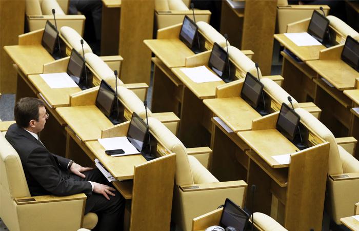 Законопроект об отзыве мандатов у депутатов прошел первое чтение в Госдуме