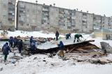 С жилого дома в Красноярском крае ветром сорвало крышу