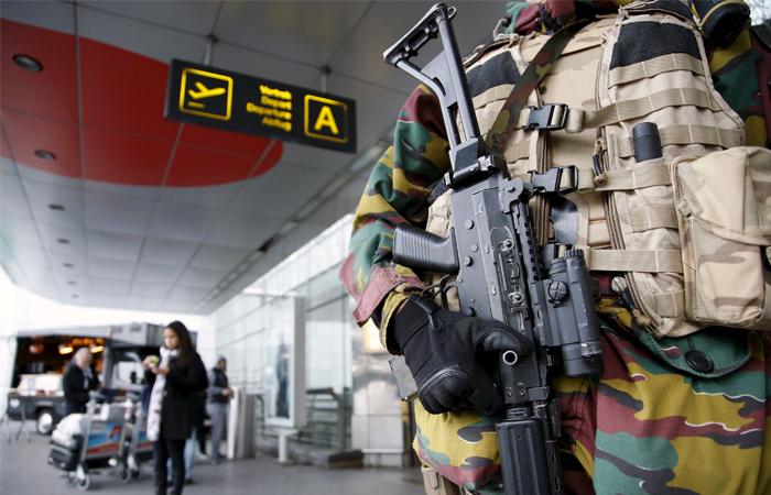 В аэропорту Брюсселя произошли взрывы