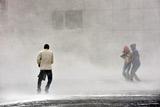 В Норильске из-за шторма объявлен режим ЧС