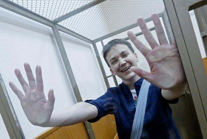 Украина ввела санкции против причастных к делам Савченко и Сенцова