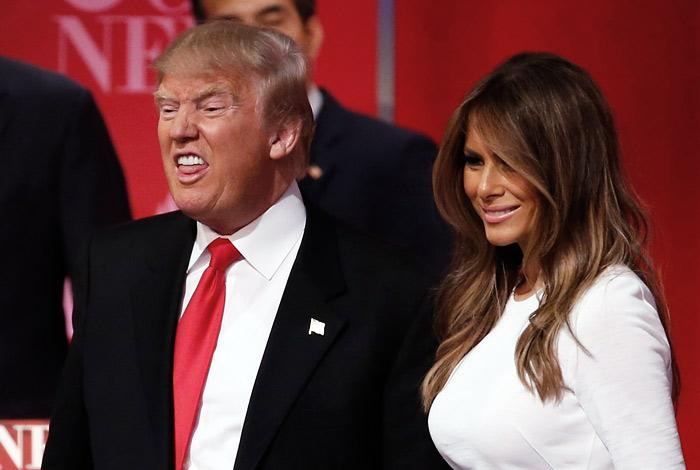 Дональд Трамп и Тед Круз поспорили из-за жен