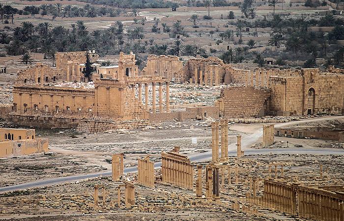 Сирийская армия отбила Пальмиру у ИГ