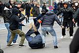 Около 10 человек задержаны после попытки устроить беспорядки в Брюсселе