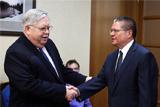 Улюкаев обсудил с послом США участие американских банков в приватизации в РФ