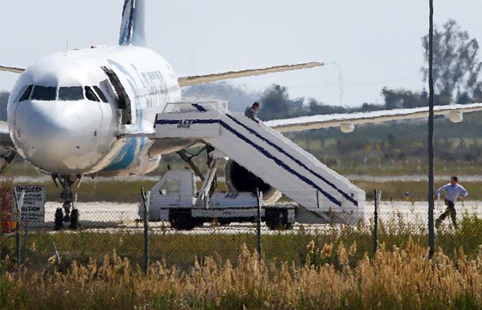 Арестован угонщик египетского самолета