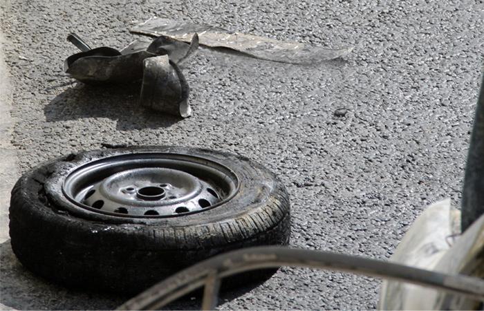 Полицейский погиб при взрыве автомобиля на КПП в Дагестане