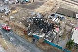 Упавший в Приморье Су-25 попал в огород