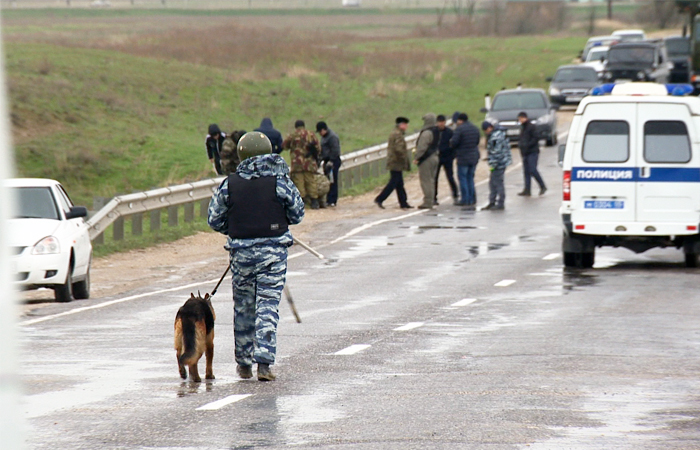 Подозреваемый в подрыве полицейской автоколонны задержан в Дагестане