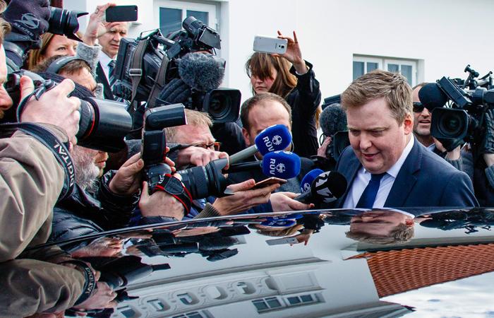 «Оффшорный скандал»: ВРейкьявике требуют отставки премьера