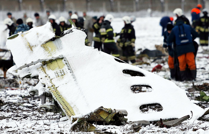 МАК описал приведшие к катастрофе действия экипажа самолета flydubai