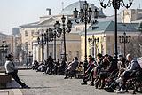 Синоптики пообещали москвичам аномальное тепло до конца рабочей недели