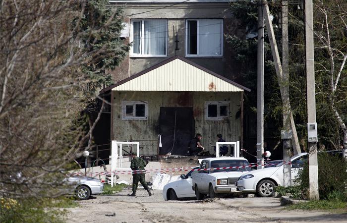 Одним из атаковавших ставропольский райотдел МВД оказался местный житель